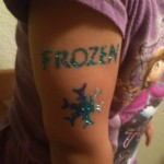 Frozen Glitter Tattoos