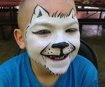 seattle face painting for children